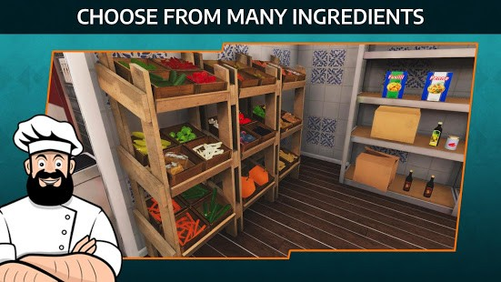 تحميل Cooking Simulator Mobile: مهكرة للاندرويد مجانا