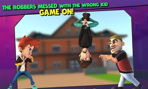 تحميل لعبة Scary Robber Home Clash مهكرة مجانًا