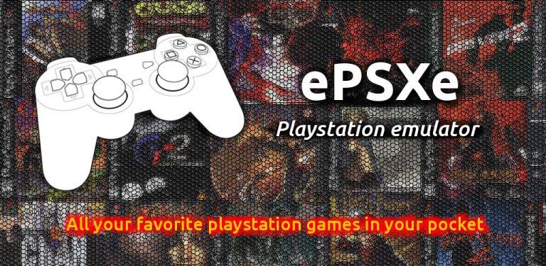 تحميل برنامج ePSXe محاكي لـ اندرويد