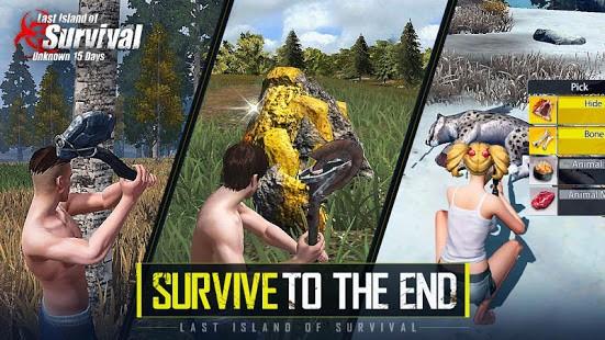 تحميل Last Island of Survival MOD مهكرة لـ اندرويد