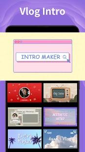 تحميل Intro Maker 3.7.1 مهكر VIP لـ اندرويد