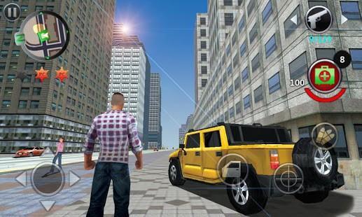 تحميل لعبة Grand Gangsters 3D مهكرة للاندرويد