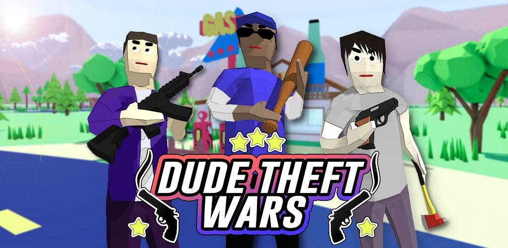 تحميل Dude Theft Wars مهكرة لـ أندرويد