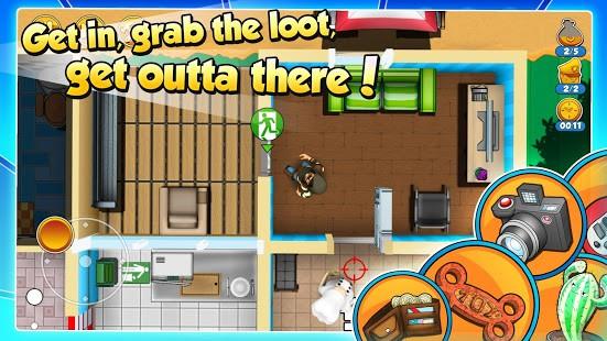 تحميل Robbery Bob 2  مهكرة للأندرويد