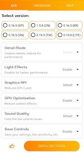 تحميل GFX Tool Pro مهكر لـ اندرويد