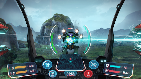 تحميل Robot Warfare مهكرة لـ اندرويد