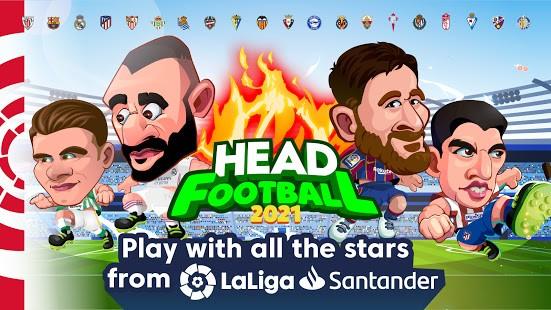 تحميل Head Soccer LaLiga 2021 برابط مباشر مهكرة لـ اندرويد