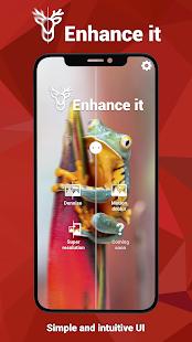 تنزيل تطبيق Enhance it مهكر لـ اندرويد