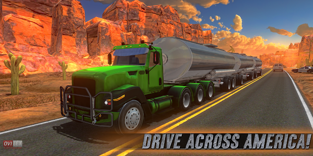 تحميل Truck Simulator USA مهكرة لـ أندرويد