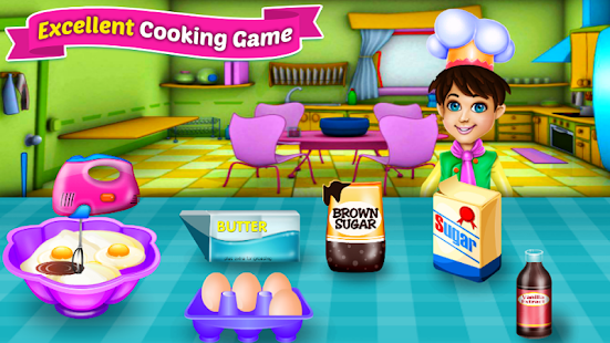 لعبة الطبخ الخبز كب كيك