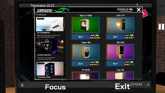 تحميل لعبة internet cafe simulator