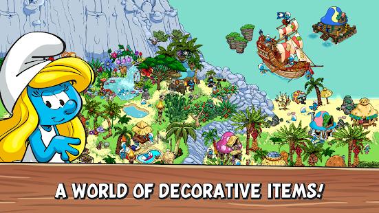 تحميل لعبة Smurfs' Village مهكرة