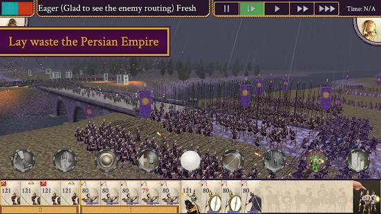 تحميل لعبة rome total war alexander