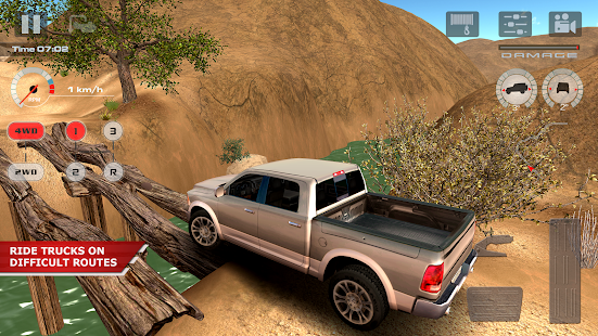 لعبة offroad drive desert