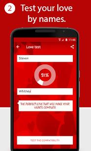 لعبة قياس نسبة الحب
