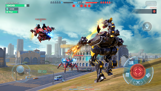 تحميل لعبة وار روبوت برابط مباشر apk 2021