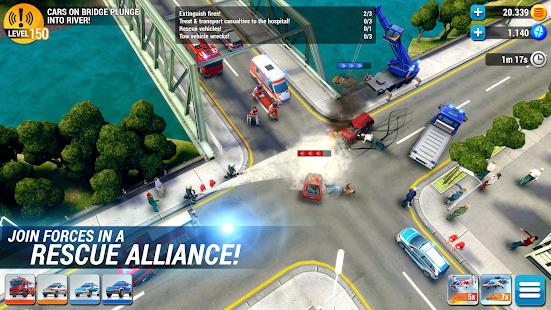 تحميل لعبة emergency hq  مهكرة للأندرويد