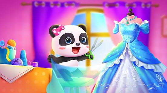 تحميل لعبة تلبيس ازياء صغار الباندا