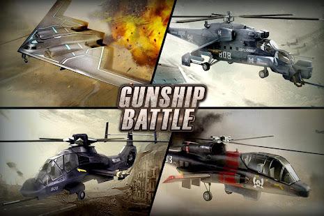 Gunship battle helicopter 3d مهكرة