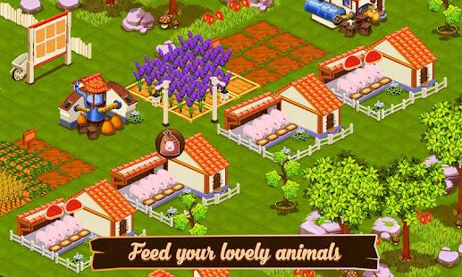 لعبة المزرعة السعيدة بدون نت