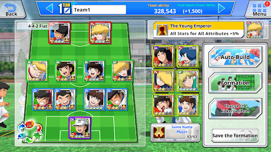 تحميل لعبة captain tsubasa dream team