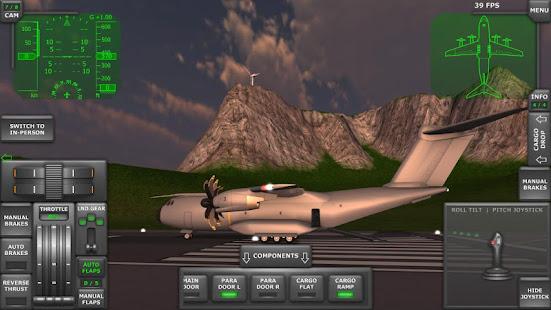 العاب طائرات المطار الحقيقية