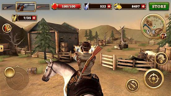 تحميل لعبة west gunfighter مهكرة