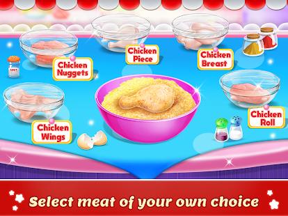 العاب بنات طبخ الدجاج التركي