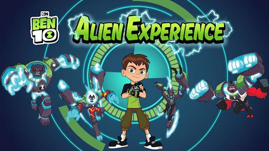 بن 10 تجربة الفضائيين