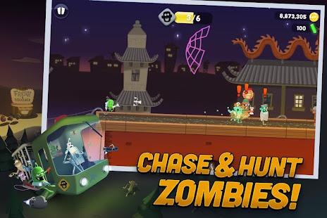 لعبة zombie catchers مهكرة
